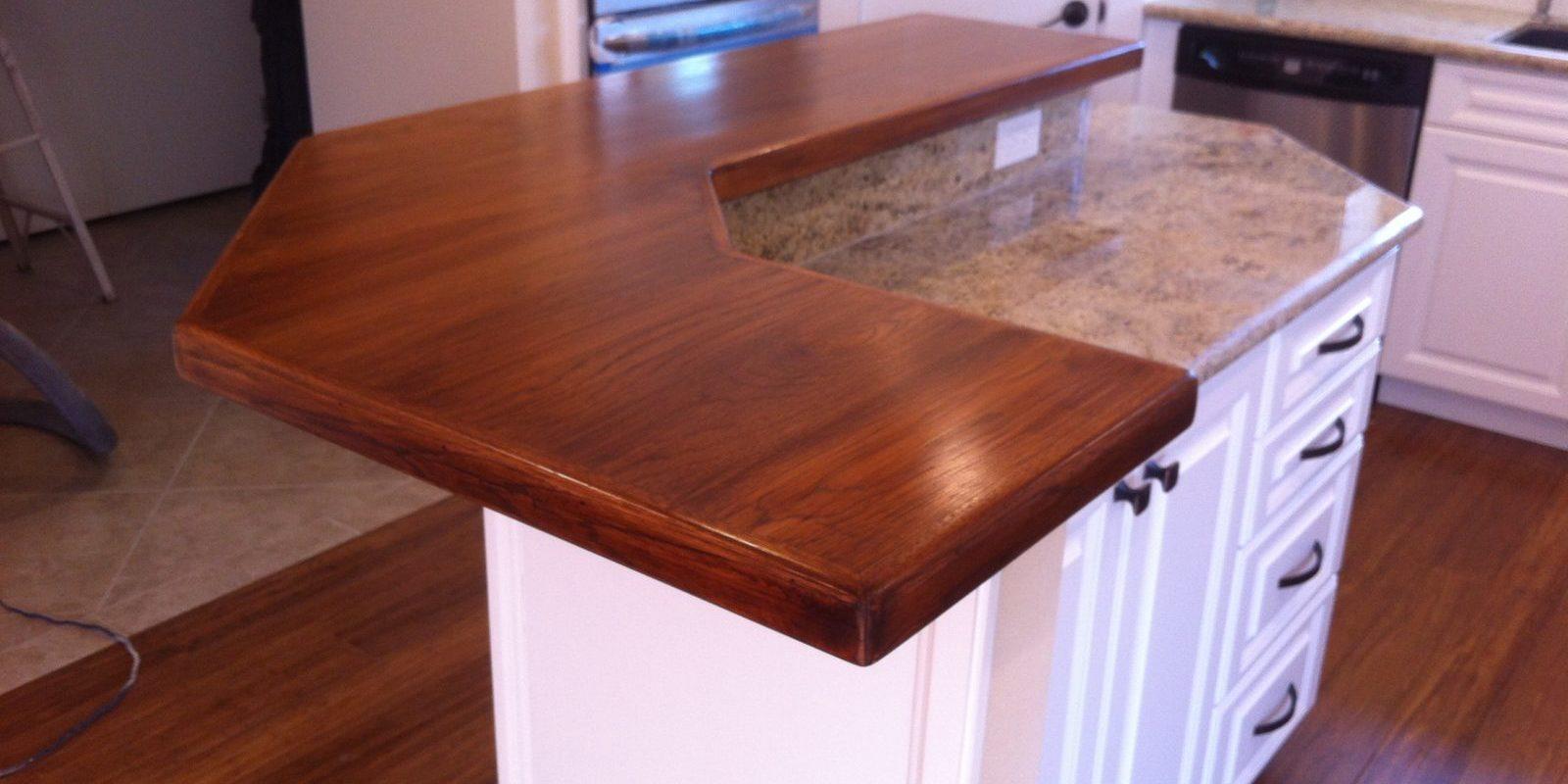 Wood Countertop For Tierrasanta Kitchen Remodel San Diego Custom Building Remodeling J