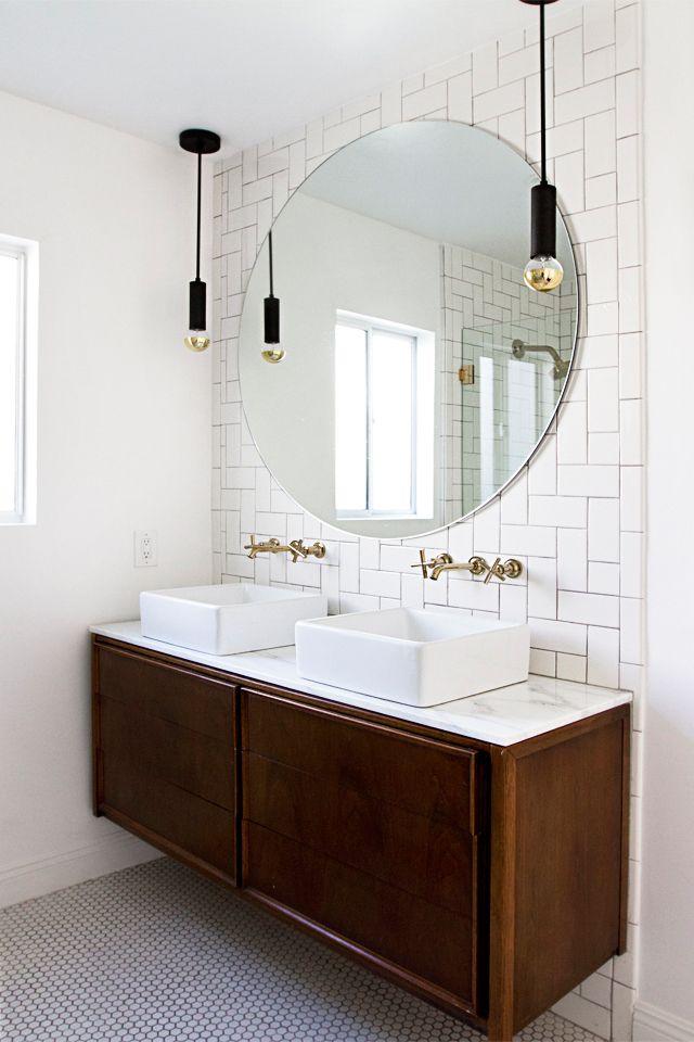 Bathroom - herringbone