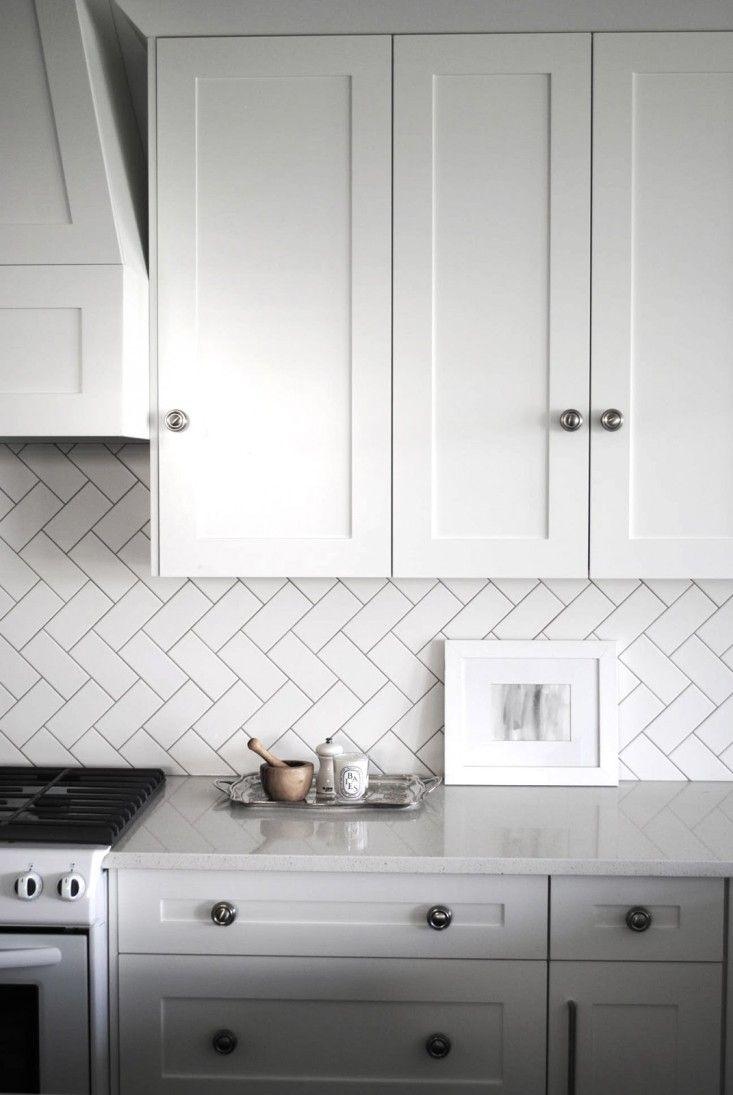 kitchen - herringbone