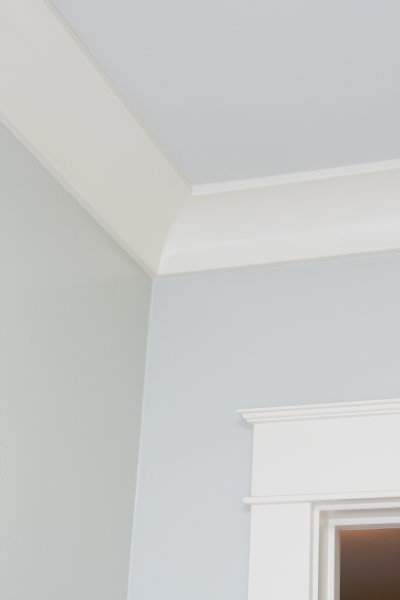 Cove Molding with Satin Finish