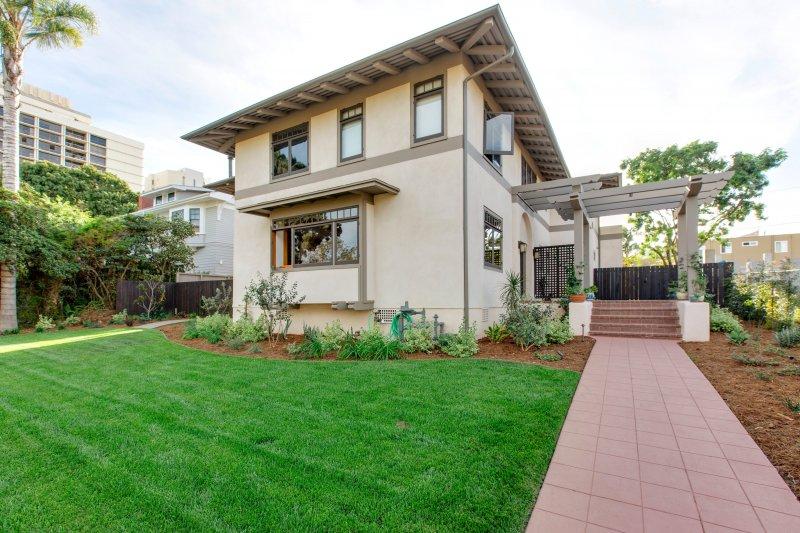 Historic Irving Gill Residence Restored