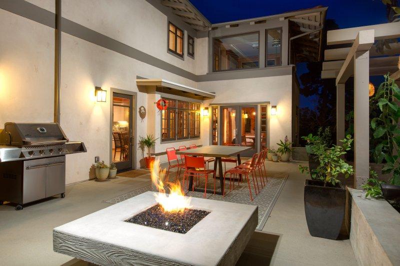 Fireside Courtyard