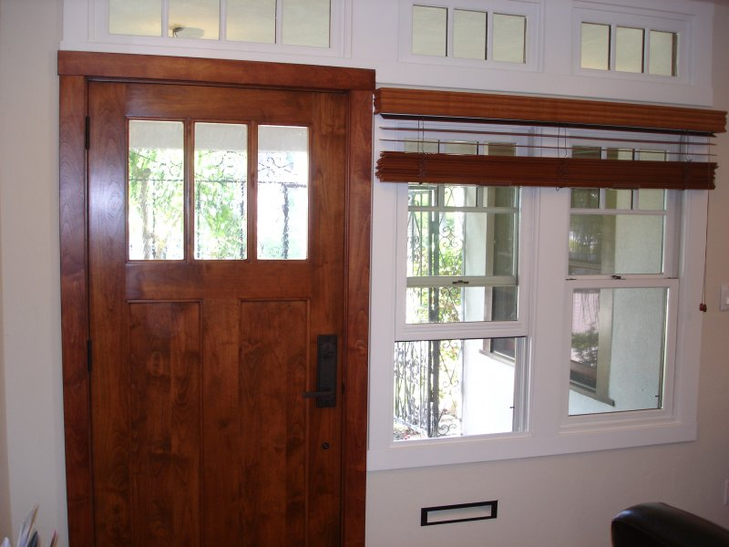 Classic Mission Style Interior Wood Trim
