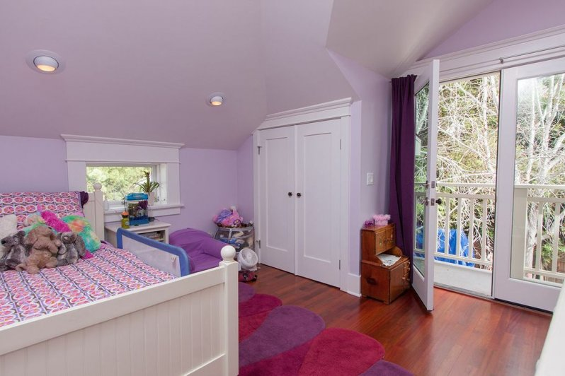 Fun Lavender Bedroom