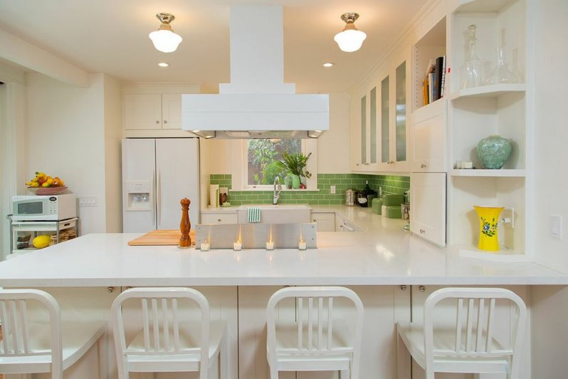 Modernized Mission Style Kitchen