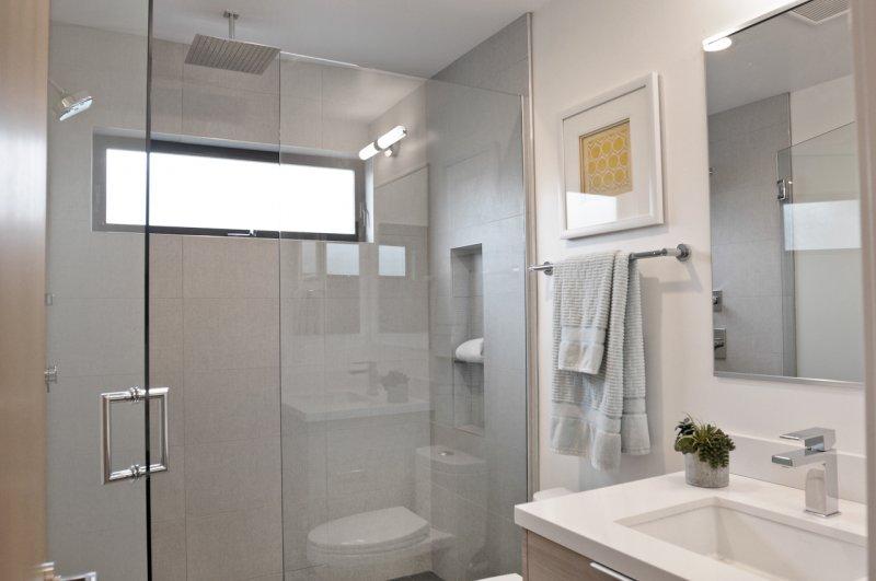 Seamless Glass Shower Door