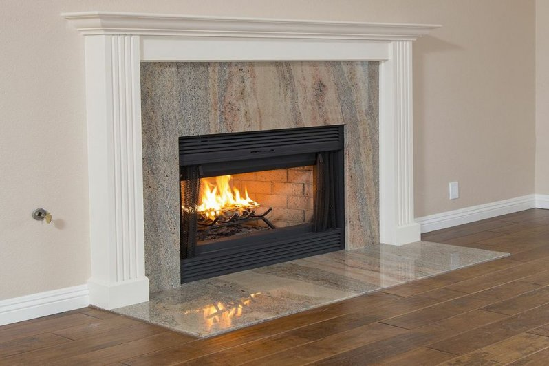 Traditional Federal Style Fireplace Mantel
