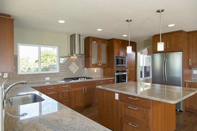 Classic Granite Countertops Integrate Tile